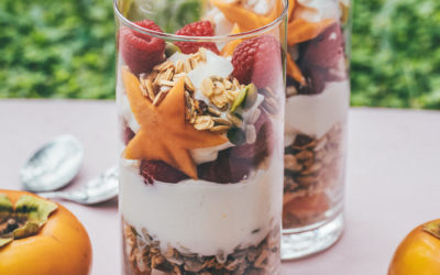 Persimmon Breakfast Parfait!
